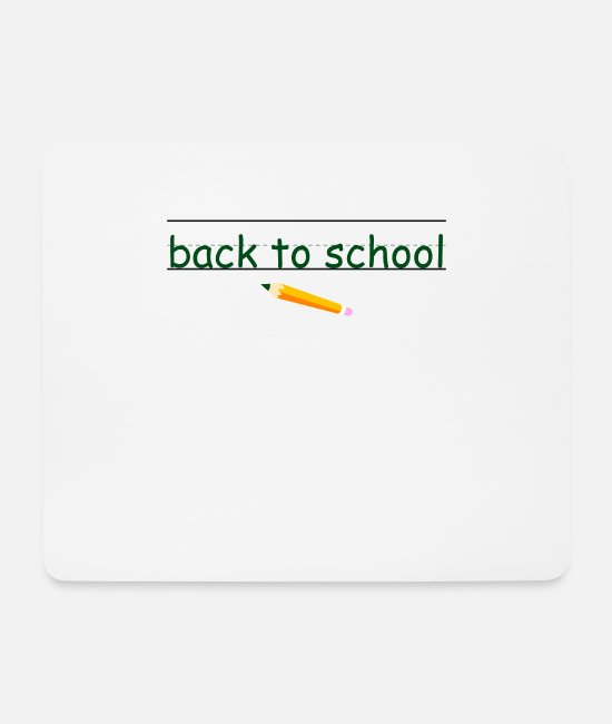 Cute Mouse Pads - School - Mouse Pad white