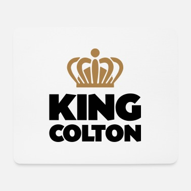 Colton King colton name thing crown - Mouse Pad