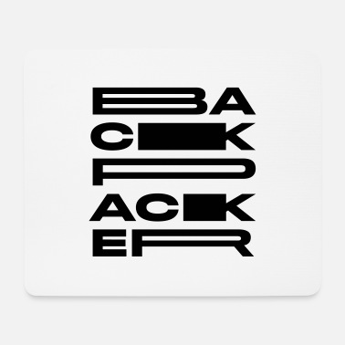 Backpacker Backpacker - Mouse Pad