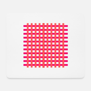 Bright Colours grid - Mouse Pad