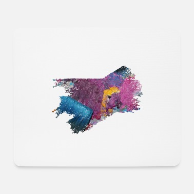 Wet Paintbrush paint and brush - Mouse Pad