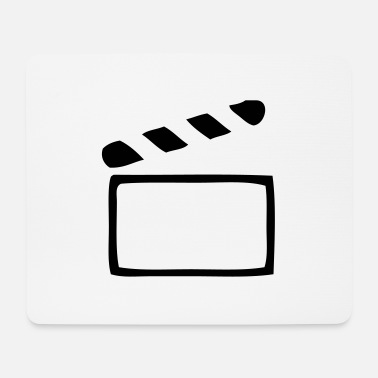 Clapperboard Clapperboard - Mouse Pad