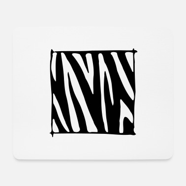Zebra Stripes Zebra Stripes - Design - Mouse Pad