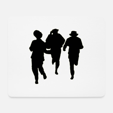 Male Dancer Dancers three male - Mouse Pad