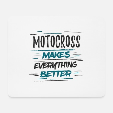 Female Driver Motocross driver club club sayings funny gift - Mouse Pad