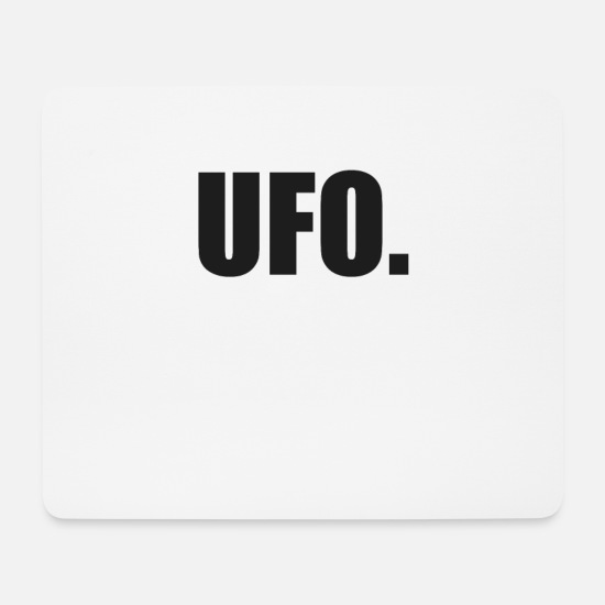 Trend Mousepads  - Ufo - Mousepad Weiß