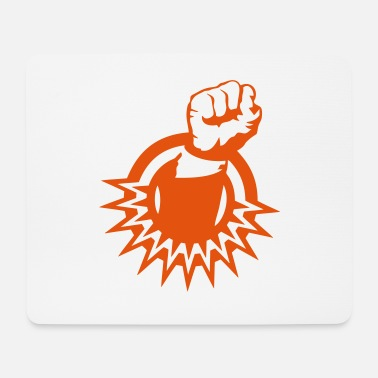 Green Revolution fist close revolution 1 2 - Mouse Pad