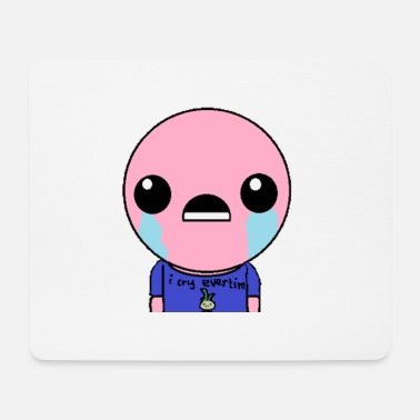 Potassium Cyanide Sad emoji who looks weeping and funny - Mouse Pad
