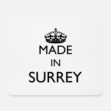 Surrey Personalise: Made In Surrey - Mouse Pad