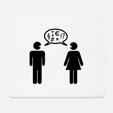Conflict Conflict couple - Mouse Pad