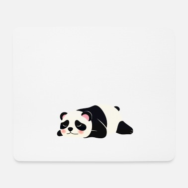 Chef Nope Not Today - Lazy Panda - Mousepad