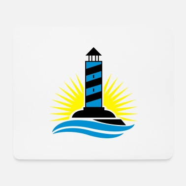 Coast lighthouse_002 - Mouse Pad