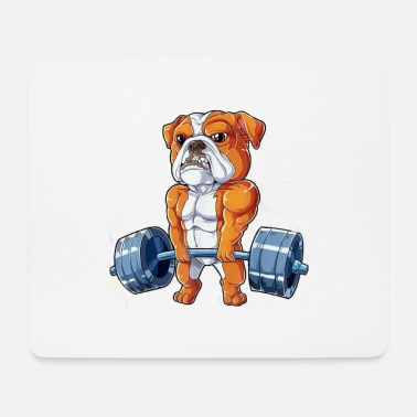 Bulldog Deadlift - Tapis de souris