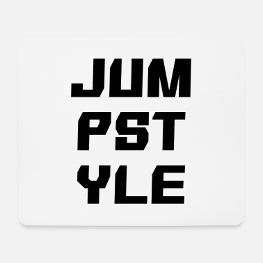 Jumpstyle JUMPSTYLE lettering - black - Mouse Pad