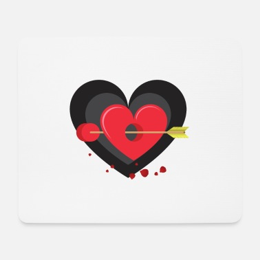 Groom Heart hit! - Mouse Pad