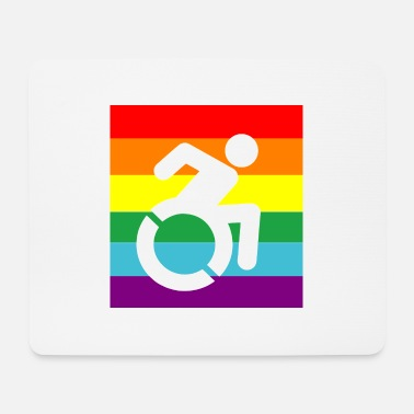 Disabled DISABLED PROUD - Mouse Pad