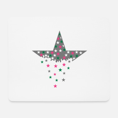 Star Star and stars - Mouse Pad