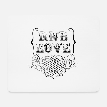 Rnb rnb love - Mouse Pad