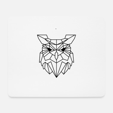 Animal Collection Animal Collection: The Owl - Mouse Pad