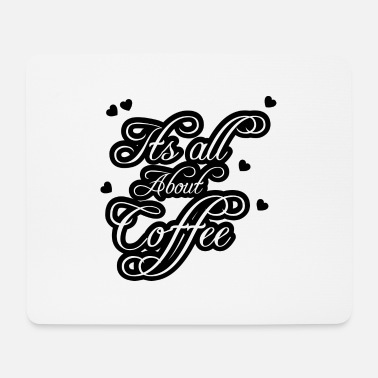 Dipendenza Coffee Lover Coffee Love Saying Office Gift - Tappetino per mouse (orizzontale)