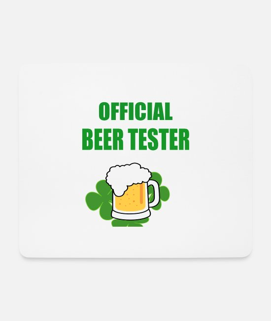 Travel Mouse Pads - beer tester - Mouse Pad white