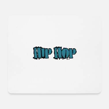 Hip-hop Electro Hip Hop in white - Mouse Pad