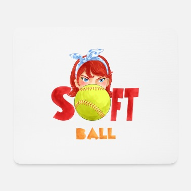 Softball Softball Girl - Musematte
