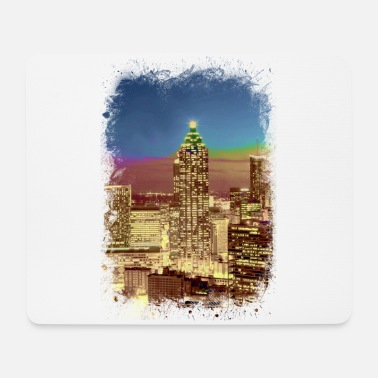 Civil Rights Atlanta Skyline Civil Rights Martin Luther King Jr - Mouse Pad