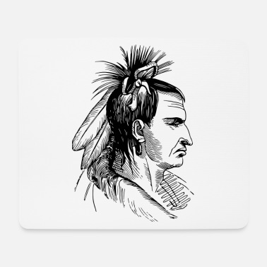Indian Indian - Mouse Pad