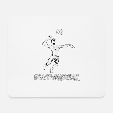 Beach Volleyball Beach volleyball - beach volleyball - volleyball - Mouse Pad