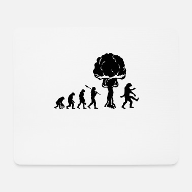 Nuclear War Evolution after nuclear war - Mouse Pad
