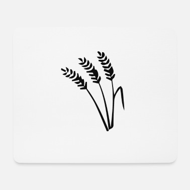 Wheat wheat - Mouse Pad
