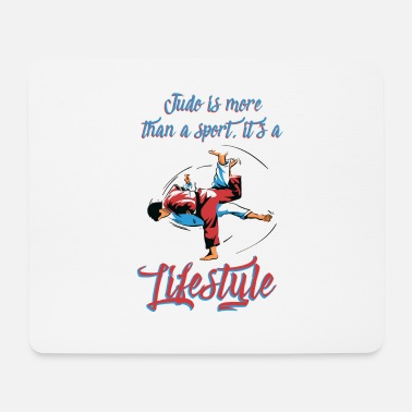 Belt Testing Judo is more than sports T-shirt Martial Arts Tee - Mouse Pad