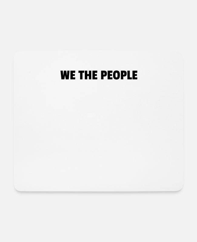 Articles Mouse Pads - We The People - Mouse Pad white