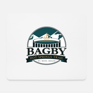 Hiking Bagby Hot Springs Trail - Mt. Hood, Oregon - Mousepad