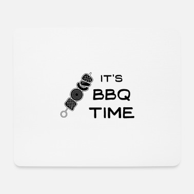Meat It's BBQ time - Mouse Pad