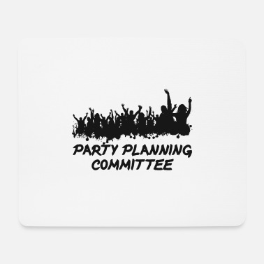 Word Comedy Party Party planning committee - Mouse Pad