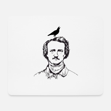 Caricature The Raven Poe Caricature - Mouse Pad