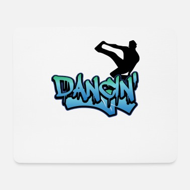 Mode Breakdance Streetdance Hip Hop - Mouse Pad