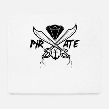 Piracy Pirate swords - Mouse Pad