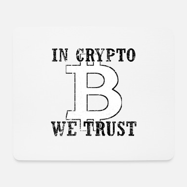 Altcoin In Crypto We Trust Bitcoin Altcoin Blockchain - Mousepad