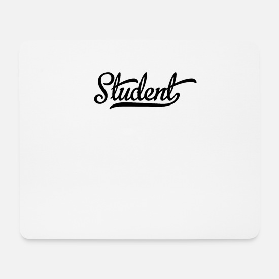 Uni Mousepads  - Student - Mousepad Weiß