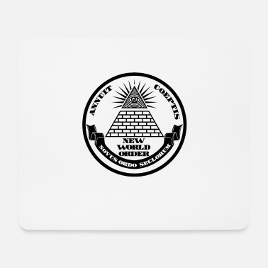 New World Order New world order - Mouse Pad