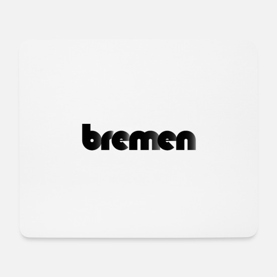 Gift Idea Mouse Pads - Bremen - Mouse Pad white