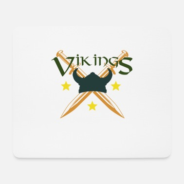 Viking Vikings, Vikings - Tapis de souris