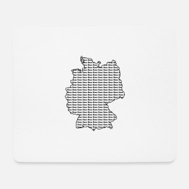 Schland Germany my home, Germany, country - Mouse Pad