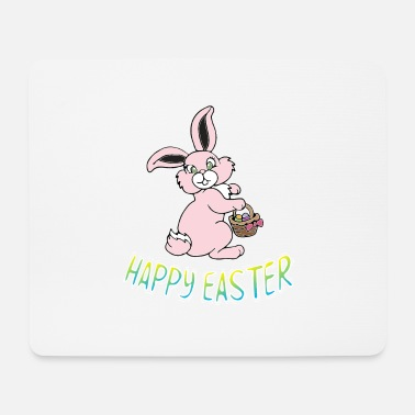 Easter chick easter bunny easter lamb jesus holiday egg - Mouse Pad