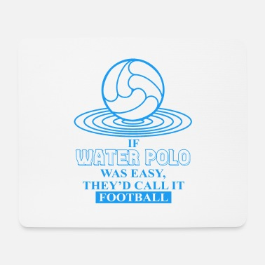 Polo WATER Polo Water Polo Water Polo Water Polo - Mouse Pad