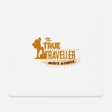 Freedom Freedom Traveler. Gift gift idea - Mouse Pad