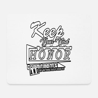 Honor Honor family honor - Mouse Pad